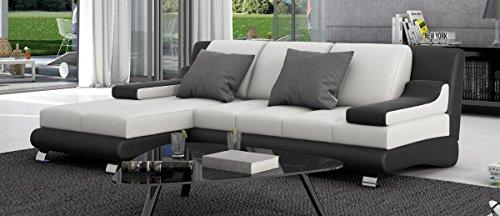 Sofa Dreams Leder Schlafsofa Sevine mit Recamiere