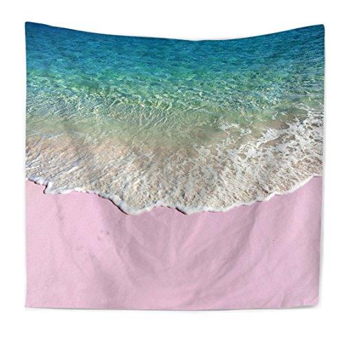Ysayc Ozeanstrand Surfen Tapisserie Nordischer Stil 3D-Malerei Home Schlafzimmer Wohnheim Wanddekoration Badetuch Hintergrund Staubdichtes Tuch