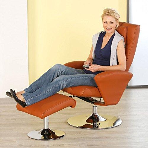 aktivshop Relax-Sessel »Design« Fernsehsessel mit Hocker drehbar