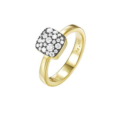 JOOP! Jewelry Damen-Ring JP-M Pave RG90798E170 925 Silber rhodiniert Zirkonia transparent JPRG90798E1