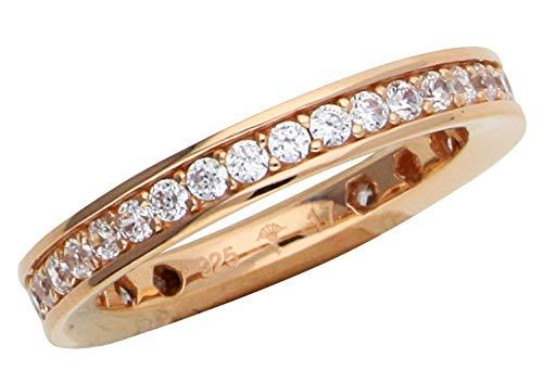 Joop Damen Fingerring 925 Silber Rosegold Taylor JPRG90788C
