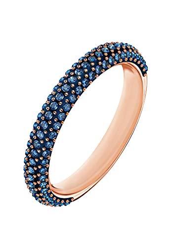 Swarovski Damen-Ring STONE Metall Swarovski Kristalle (roségold)