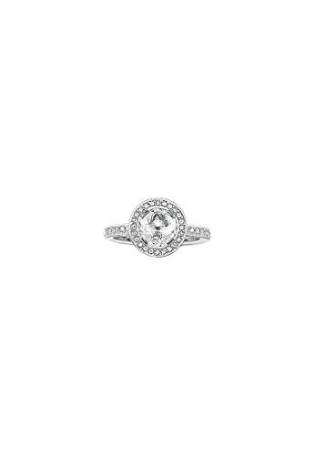 THOMAS SABO Damen-Ring 925er Silber Zirkonia TR1971-051-14-54