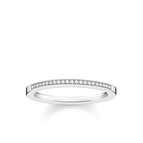THOMAS SABO Damen Ring 925er Sterlingsilber D_TR0006-725-14