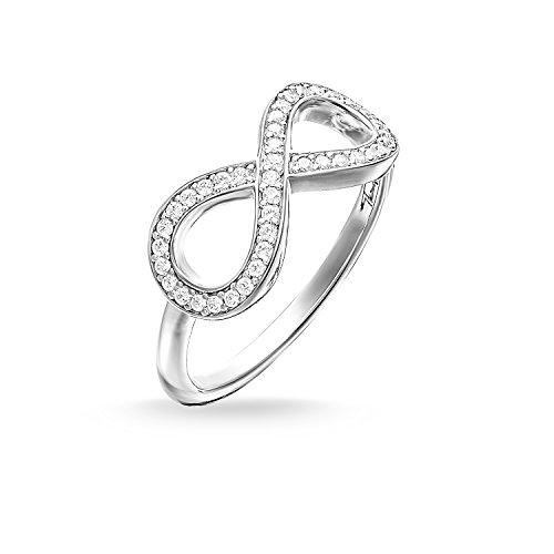 THOMAS SABO Damen Ring Infinity Ring 925er Sterlingsilber TR2014-051-14