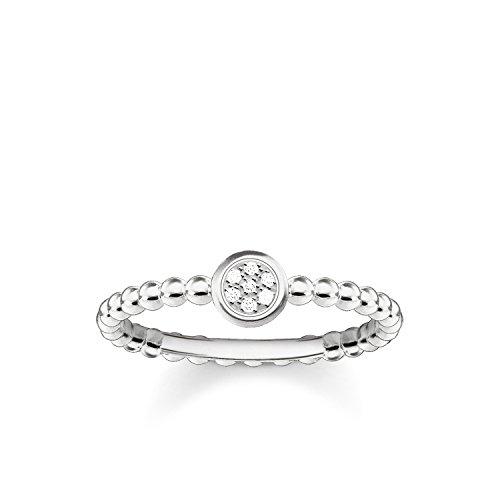 THOMAS SABO Damen Ring Sparkling Circles 925er Sterlingsilber D_TR0004-725-14