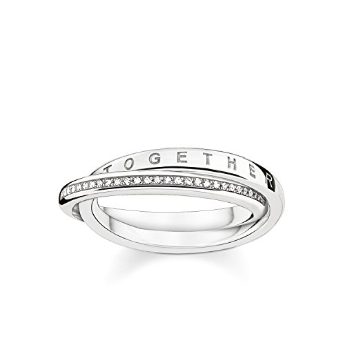 THOMAS SABO Damen Ring Together Forever 925er Sterlingsilber D_TR0018-725-14
