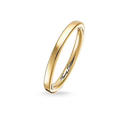 Thomas Sabo Ring TR1979-413-12 Sterling Silber Gelbgold