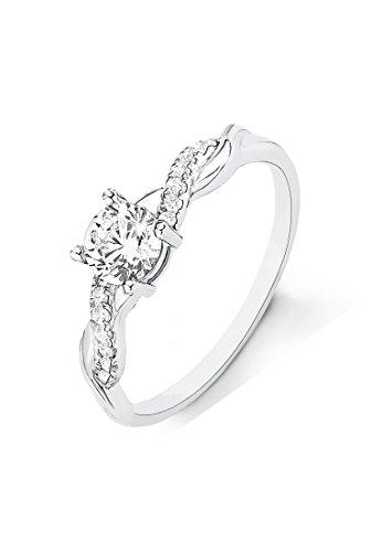 s.Oliver Damen Ring 925 Sterling Silber