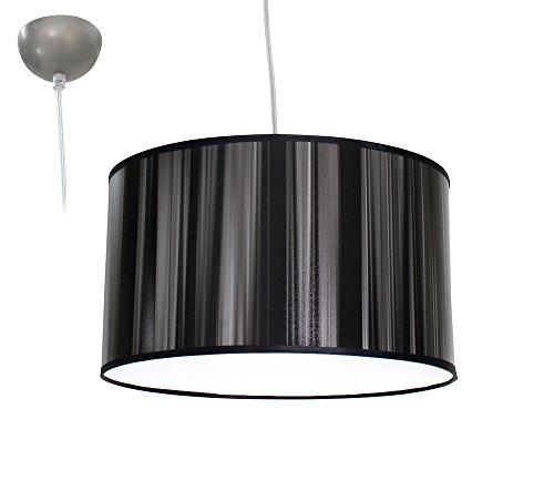 Bioledex ANISO Pendelleuchte Satin Design schwarz E27 35cm L110926