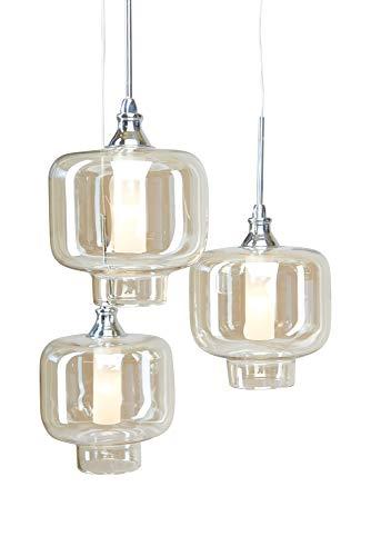 Höhenverstellbare LED HÄNGELEUCHTE VITREA/stilvoll und elegant/Blickfang für Ihr Zuhause