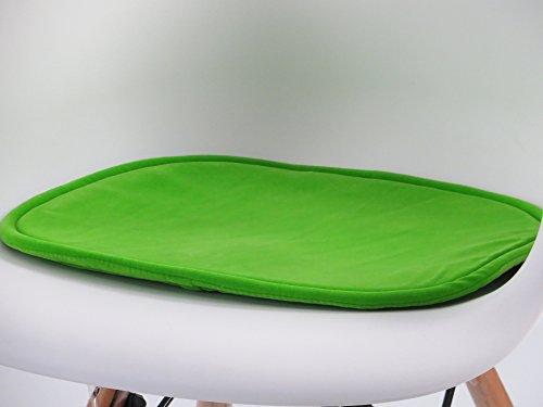 Massivholzmöbel Kuckuck SITZKISSEN Grün für ESSZIMMERSTUHL Inspiration/BUCHE SCHALENSTUHL Retro Chair Stuhl