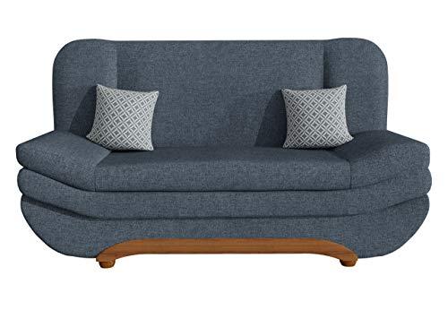 Mirjan24  Sofa Weronika Evo mit Bettkasten und Schlaffunktion, Schlafsofa, Farbauswahl, Couch vom Hersteller, Wohnlandschaft (Lux 33 + Evo 33)