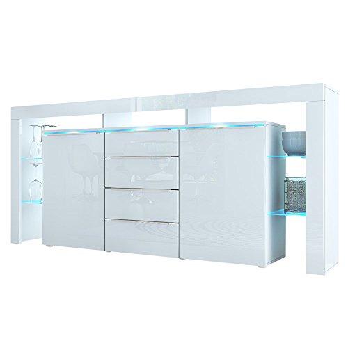 Sideboard Kommode Lima Nova Weiß