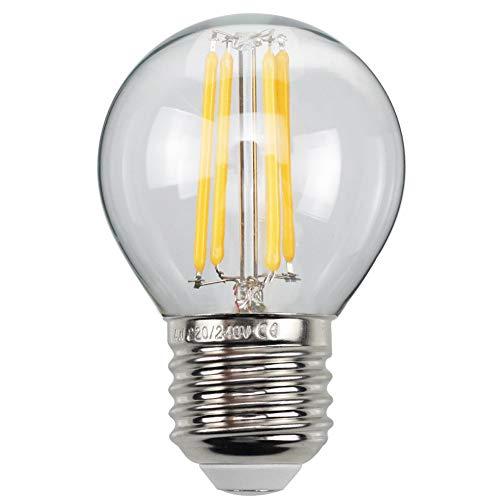 HJXDtech Industrial Retro Loft Deckenleuchte Pendelleuchten Kronleuchter Hängelampe Leuchte Messing Lampenfassung Armaturenw/Glaskugel Lampenschirm