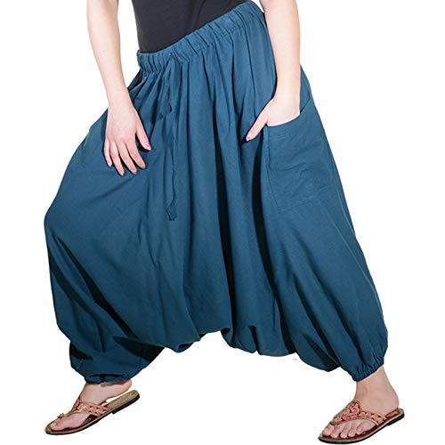 KUNST UND MAGIE Orientalische Haremshose one Size in vielen Farben