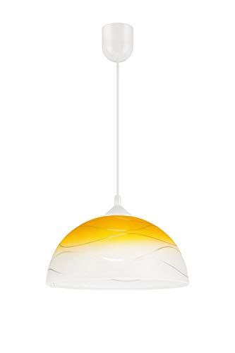Pendelleuchte Esszimmerlampe ADANIA E27 bis 60W B30cm Ø30cm aus Glas 2C72E41765
