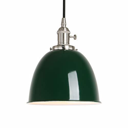 Phansthy innen Modernes Deckenhalbkreis mit Metall-Schirm Pendelleuchte Hängeleuchte Vintage Hängelampen Hängeleuchte Pendelleuchten Loft-Pendelleuchte im Landstil