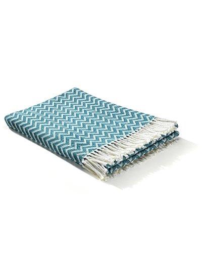 myHomery Decken mit Fransen Verschiedene Muster