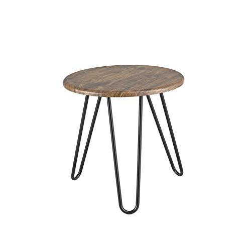 ASPECT Brockton rund Vintage Holz Kaffee Tisch