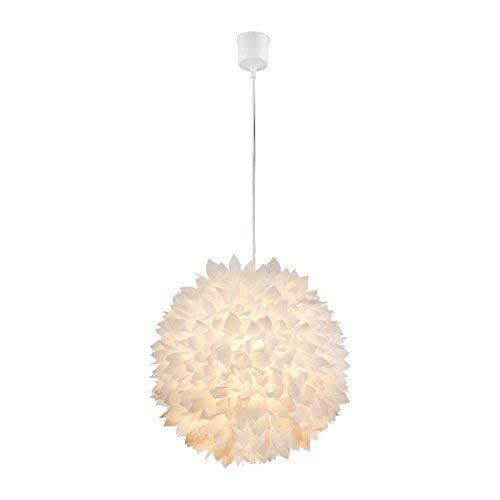 Pendel Hänge Decken Lampe Leuchte Blütenformen Flora Schirm weiß Globo 15115H